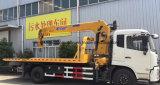 Dongfeng 6 катит 8 тонн тележки вредителя с ценой крана XCMG