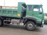 Speicherauszug des China-neuer gelben Fluss-4X2/Lastkraftwagen mit Kippvorrichtung für Verkauf
