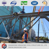 Pianta industriale pesante della struttura d'acciaio di alto aumento