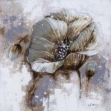 Huile Fleur Peinture Toile