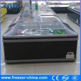 - 18 ao tipo congelador enorme combinado da caixa de -22 Degreee do console