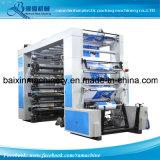 Печатная машина Flexo бумаги управлением пояса 8 цветов