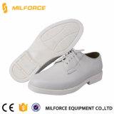 Zapatos blancos de la oficina de la venta de los hombres durables calientes del cuero genuino