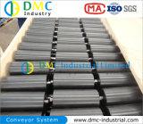 Rodillos del Transportador del Negro de la Rueda Loca del Transportador del HDPE del Sistema de Transportador del Diámetro de 159m M