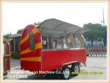 Ys-FT350b Qualitäts-grosser mobiler Küche-Nahrungsmittel-LKW-Schlussteil