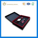 Boîte de empaquetage à vin rigide de papier cartonné de qualité (usine de la Chine)