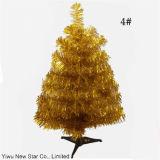 Árbol de navidad del PVC de 7 colores pequeño