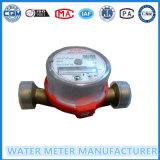 Sola clase B /C contador de la agua fría o caliente de R80/R160 del jet