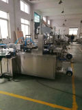 Machine de Papercard Blsier de cachetage de roulis de PVC Qb-350