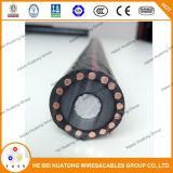 câble de cuivre approuvé d'Urd du conducteur 1/0AWG de l'UL 15kv