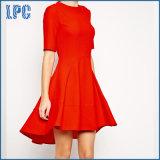 Платье вечера западного типа шикарное с короткой передней длинней задней частью