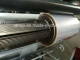 Horizontal de la máquina de corte longitudinal rebobinador de película de plástico / rollo de papel