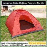 屋内黙想の肩3季節の赤いキャンプテント