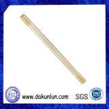 Tuyau / tube creux doublé en laiton à haute précision personnalisé en usine