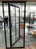 Double porte-fenêtre en aluminium en verre conçue élégante avec le prix usine