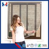 Экран двери экрана/окна мухы DIY магнитный/алюминиевая дверь с защитной сеткой мухы плетения москита рамки