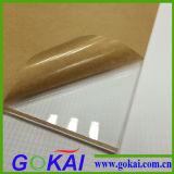 Ver a través la tablilla de anuncios de acrílico clara de /Acrylic de la tarjeta de la muestra