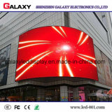 Cor cheia da galáxia P2.98/P3.91/P4.81/P5.95 curvada anunciando o sinal do diodo emissor de luz Screen/LED Display/LED Advertizing/LED