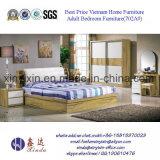 호화스러운 PU 가죽 침대 현대 호텔 침실 가구 (702A#)