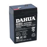 6V 4ah VRLA verzegelde van het Lood de Zure Vrije UPS Batterij van het Onderhoud