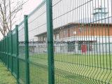 Galvanizado recubierto de PVC valla de protección Valla de alambre de China Anping fábrica