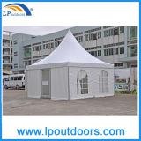 Neues Partei-Pagode-Zelt des Entwurfs-2016 mit transparentem Belüftung-Fenster
