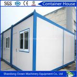 짜맞추는 Prefabricated 콘테이너 집 20 피트 강철 구조물 호화스러운 가벼운 강철
