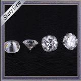영구히 도매 1 방석 모양 반지를 위한 다이아몬드에 의하여 잘리는 순수한 백색 Moissanite 돌