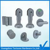 卸し売り直接工場浴室のキュービクルのハードウェアの洗面所の区分セット