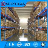 Escala de carga pesada Pallet Rack Type Warehouse Metal Rack para Indústria Química