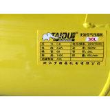 600W 24L exempt d'huile du compresseur de la pompe à air dentaire silencieux