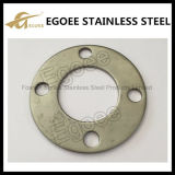 flangia del pavimento del corrimano del quadrato dell'acciaio inossidabile 304 316L
