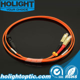 MTRJ au fil de connexion de fibre multimode de Sc Om1 Om2 2.0mm