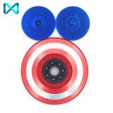 3D Stuk speelgoed EDC Kapitein Shield Focus Adhd Autism voor Jonge geitjes/Volwassene friemelt de Spinner van de Hand