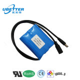 El paquete recargable de la batería de la batería de ion de litio 12V 2600mAh modificó para requisitos particulares