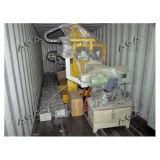 Máquina de piedra del cortador del puente del CNC con la lámina que inclina 45 grados