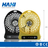 Atacado Gift Mini USB Desk Fan com 18650 bateria de lítio