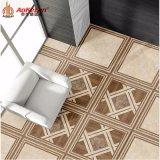 Azulejo de suelo rústico de cerámica esmaltado madera de Matt para la sala de estar