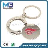 Trole personalizado forma Keychain do logotipo da gota da alta qualidade