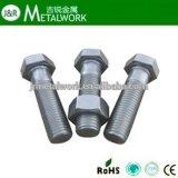 /Half-Gewinde-Hex Kopf-Schraube schwarzen Oxids des ASTM ANSI-A193 A325 A490 B7 B7m schwere volle