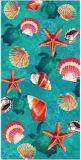 Essuie-main 100% de plage de Velevt de coton (BC-CT142109)