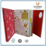 아이들의 수교 능력을 훈련하기 위하여 서비스를 인쇄하는 책 또는 책