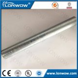 Aislante de tubo metálico eléctrico galvanizado EMT del conducto estándar de la UL/acero galvanizado sumergido caliente del tubo de acero estructural