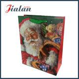 광택이 없는 박판으로 만들어진 주문 로고 디자인 싼 서류상 승진 크리스마스 부대