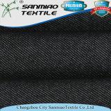 Ordine Jean della nuova saia di disegno della fabbrica piccolo che lavora a maglia il tessuto lavorato a maglia del denim per i pantaloni