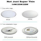 非環式カバーLED天井灯20Wの屋内天井ランプの保証3年