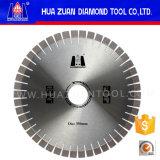 Huazuan 350mm het Diamant Gesegmenteerde Blad van de Zaag van het Graniet Scherpe