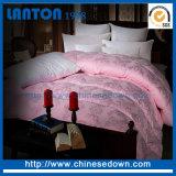 호텔 침구 또는 백색 거위는 아래로 또는 백색 거위 깃털 이불 누비질한다