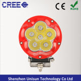 """5 """"12V-24V 60W 6X10W CREE LED Spot Driving Light"""