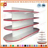 3つのレベルによってカスタマイズされるスーパーマーケットの穴の背部ウォール・ディスプレイの棚付けの単位(Zhs566)